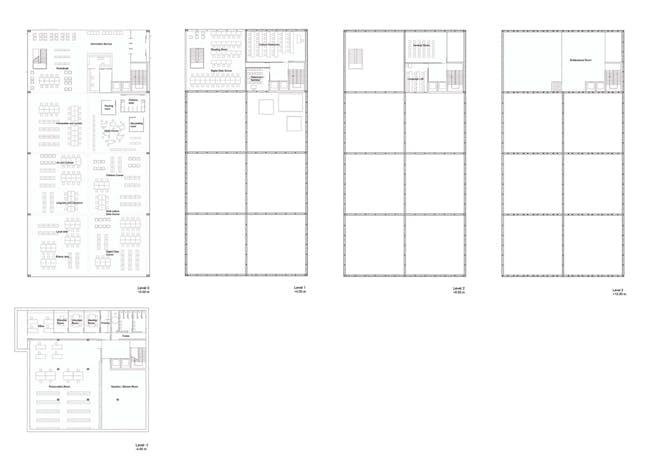 Floor plans (Image: Gorka Blas)