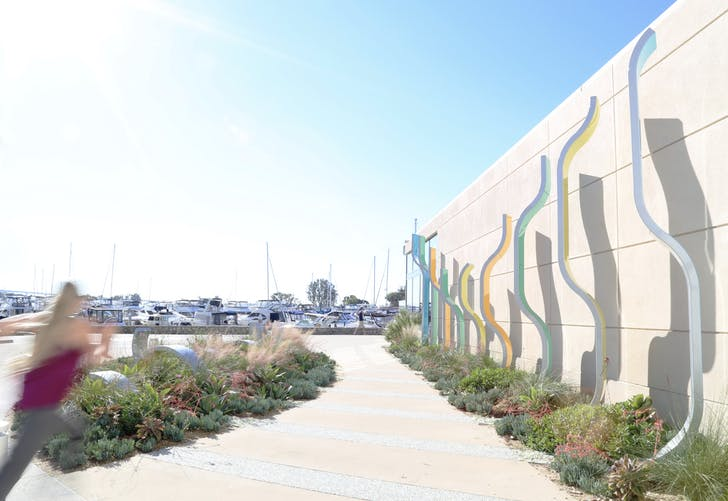 San Diego Marina Walk waterfront. Image courtesy of After Architecture.