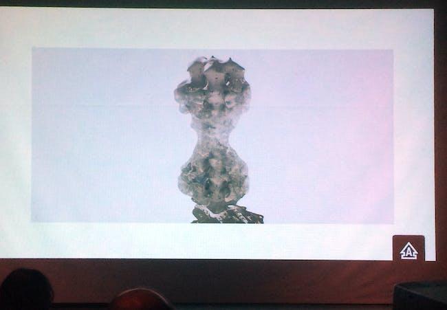 Nazareth Ekmekjian presentation. Photo by Anthony Morey.