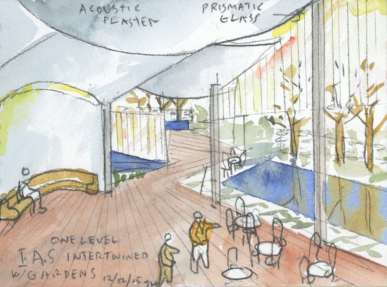 Steven Holl will design the new Rubenstein Commons at the