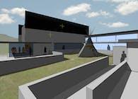 Cloud Horse Art Institute -Theater Building