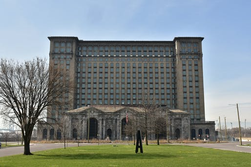 "Michigan Central Station in 2017. Photo: Amaury Laporte/<a href=""https://www.flickr.com/photos/alaporte/24990942958/in/photostream/"">Flickr</a>"