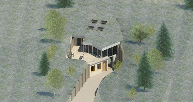 TERRAIN HOUSE 800 © Environmentally earth bound, unobtrusively sustainable