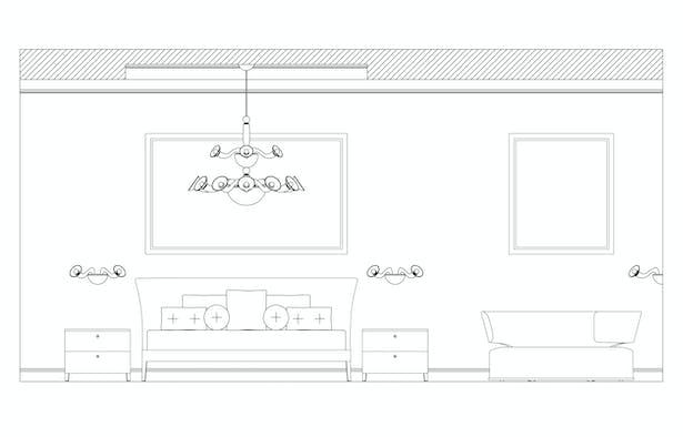 Guest Bedroom Elevation