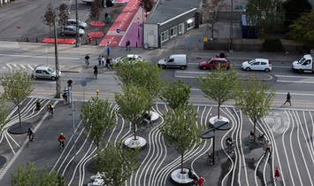 Copenhagen's Superkilen Urban Park by BIG + Topotek1 + Superflex