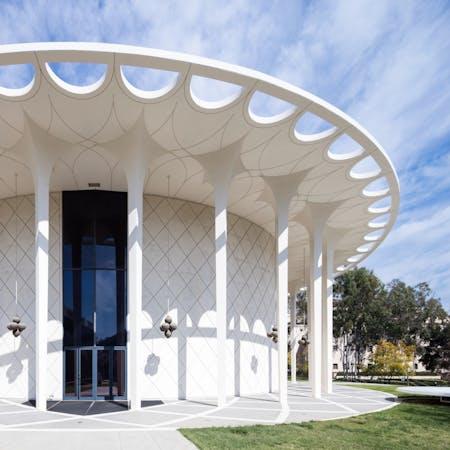 Beckman Auditorium in Pasadena. Credit: Darren Bradley