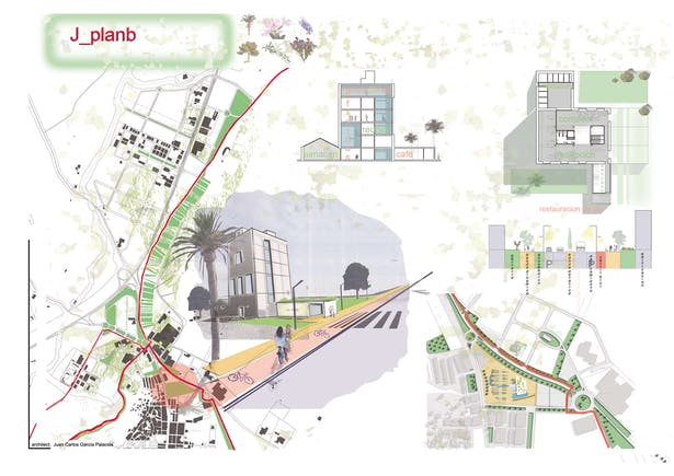 """Competiton in Yecla and Jumilla, PAYS. MED. URBAN projects """"Plan B"""""""