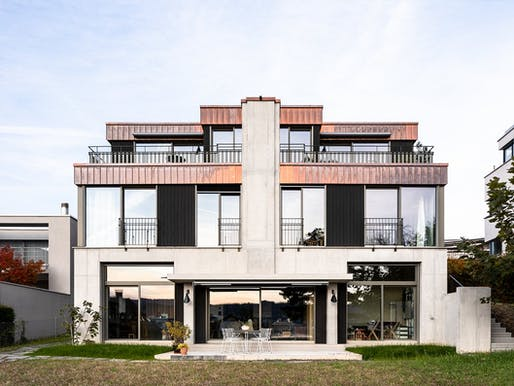 "Residential Single-Family Category: Three-family house ""George"" by käferstein & meister architekten. Image © Jürgen Beck/Courtesy of best architects 22 awards"