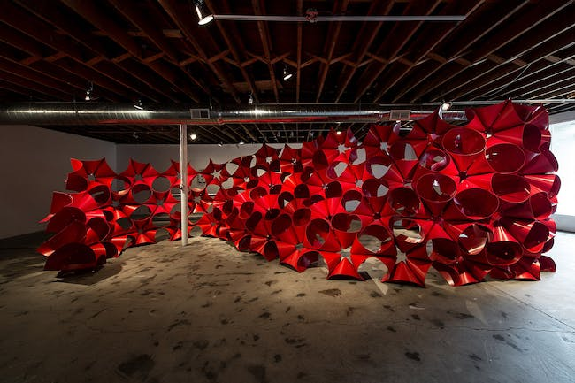 Installation at Land of Tomorrow (LOT), Lexington, KY (Photo: Magnus Lindqvist)