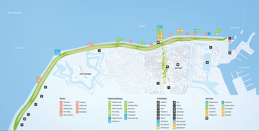 Seasaw by MVRDV designed for Den Helder, Holland. Visualization: Antonio Luca Coco, Tomaso Maschietti, Giovanni Coni, Kirill Emelianov.