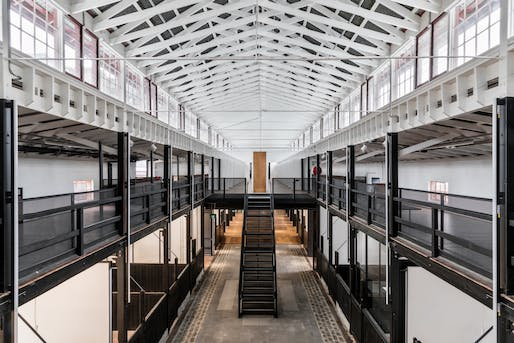 Victorian College of the Arts former Mounted Police Stables (Southbank) by Kerstin Thompson Architects. Photo: Trevor Mein.
