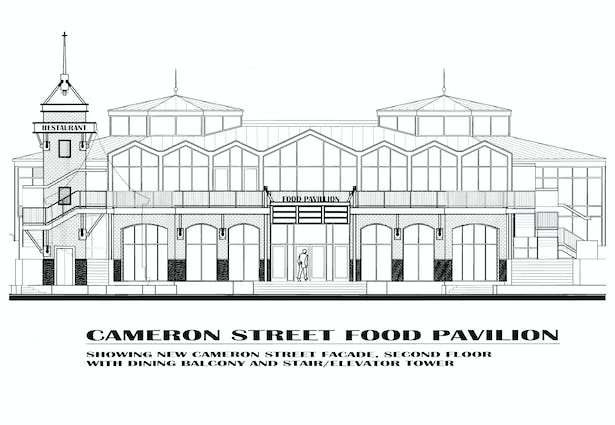 Food Court Proposed Elevation