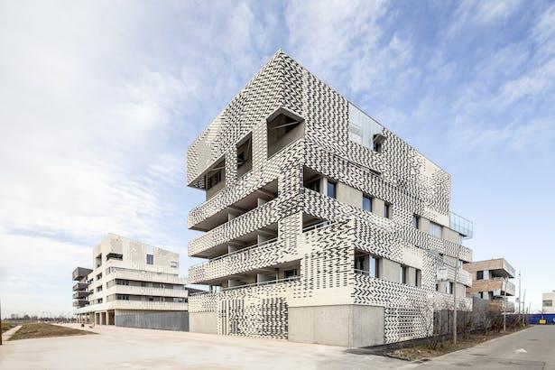 Buildings A, B, C, D
