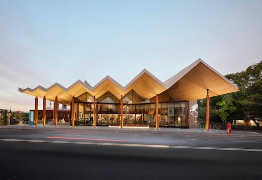 The Sir Zelman Cowen Award for Public Architecture (joint winner): Marrickville Library, BVN, NSW. Photo: Tom Roe.
