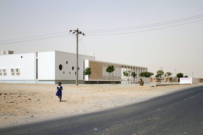 Zumtobel Group Award 2014 - BUILDINGS winner: Port Sudan Paediatric Centre by Studio Tamassociati, Italy. Photo courtesy of Zumtobel Group Award 2014.
