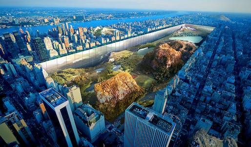 1st Place - Urban Design (Concept) - New York Horizon by Yitan Sun & Jianshi Wu