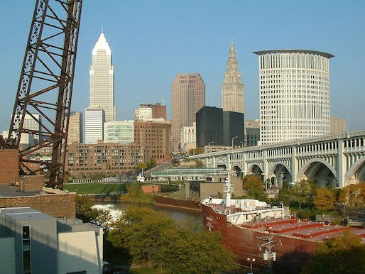 Cleveland, Ohio ranked as the 'most economically distressed' city in the United States. Image via wikipedia.com