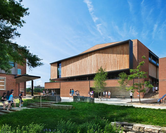 Quaker Meeting House and Arts Center, Sidwell Friends School - Washington D.C. Photo: Michael Moran/OTTO