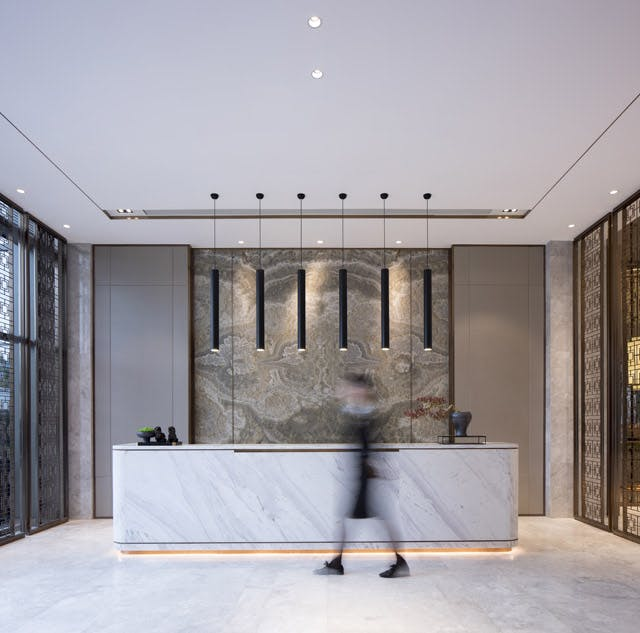 sales office design. Firm Role: Brand Promotion Director Additional Credits: Project Name: Chongqing Jinke Bocushan Sales Office Design Company: AOD I