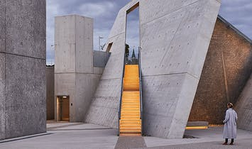 First photos of Daniel Libeskind's newly opened National Holocaust Monument