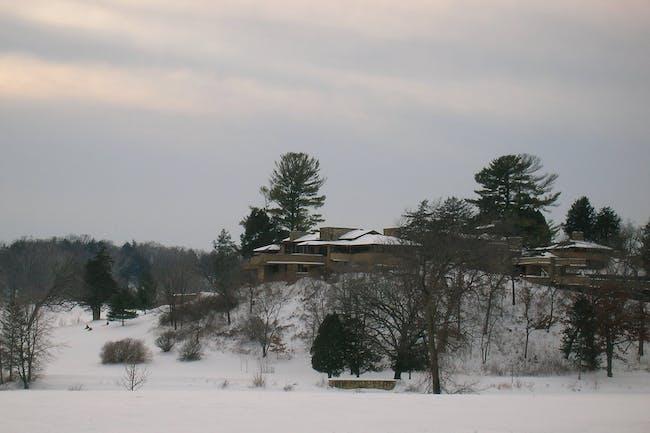 Taliesin East in Wisconsin. Credit: Wikipedia
