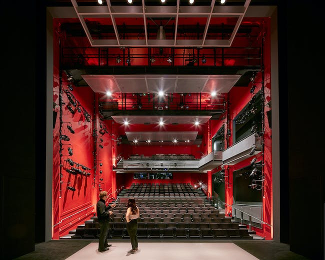 The Strand, American Conservatory Theater (A.C.T.); San Francisco by Skidmore, Owings & Merrill LLP. Photo: Bruce Damonte.