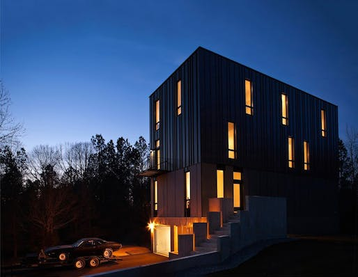 First Jury Prize & People's Choice Third Prize: Rank Residence, near Pittsboro, NC by Tonic Design + Tonic Construction