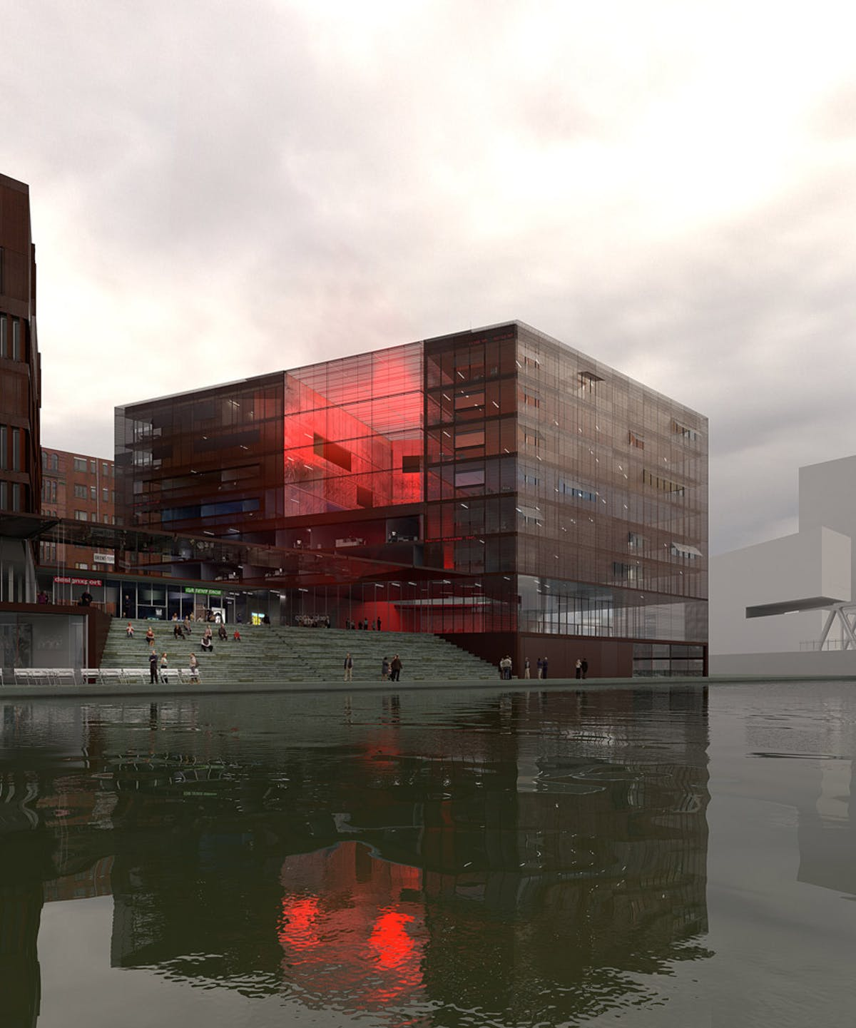 Magdeburger hafen hafencity hamburg lan architecture for Designer jobs deutschland