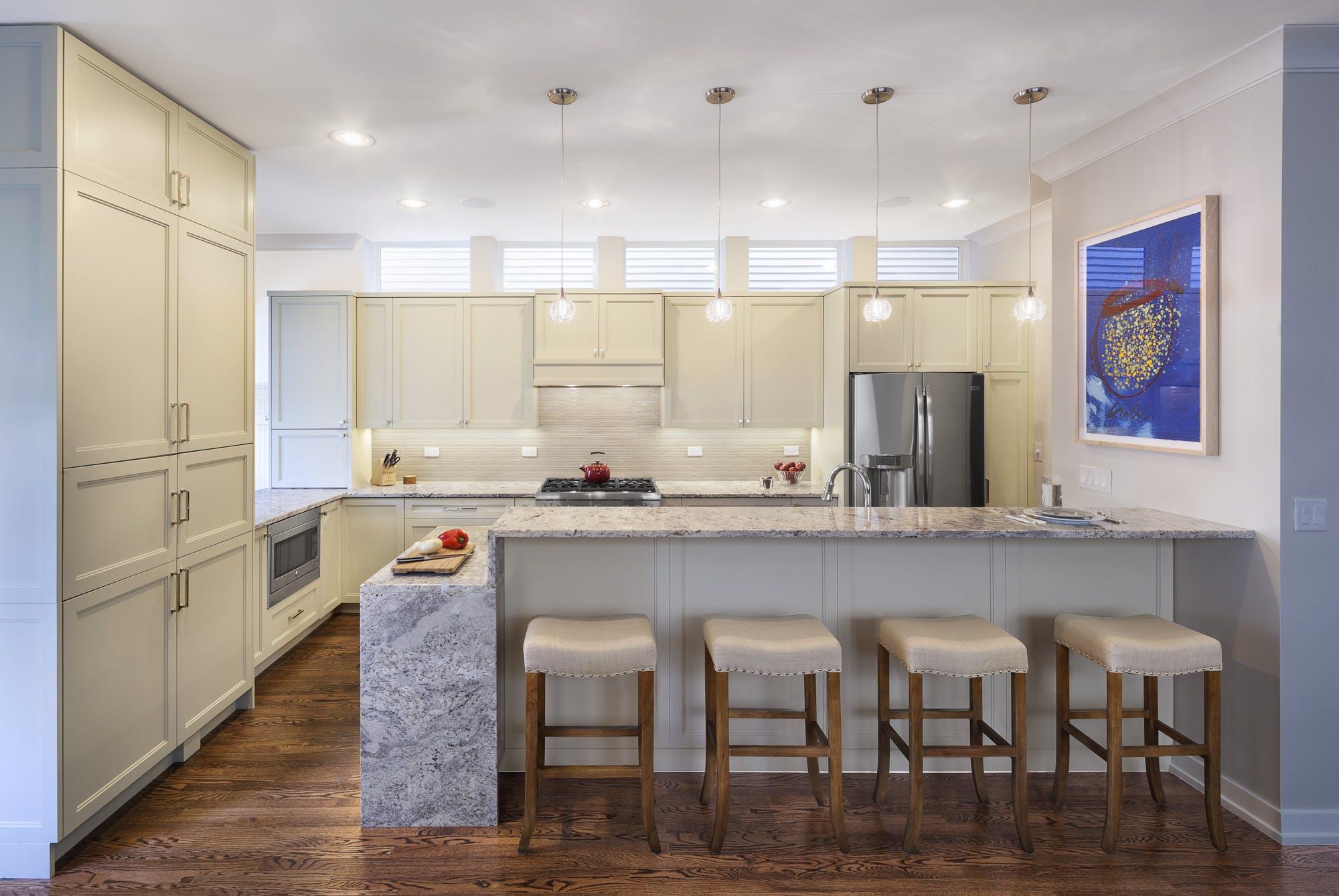 Windows Above Kitchen Cabinets