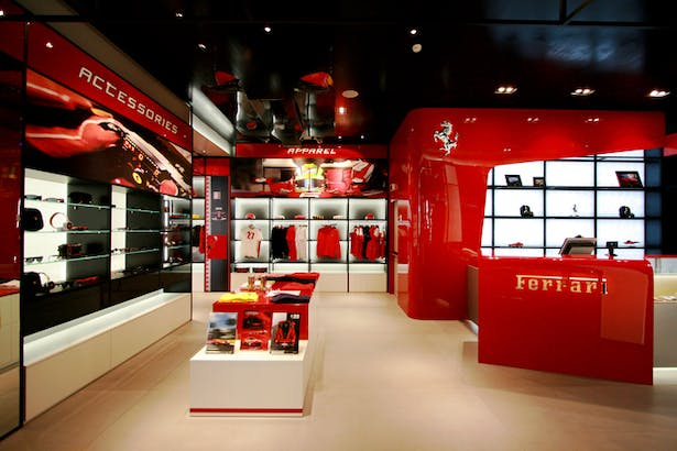 Ferrari Store Maranello - Desk Area