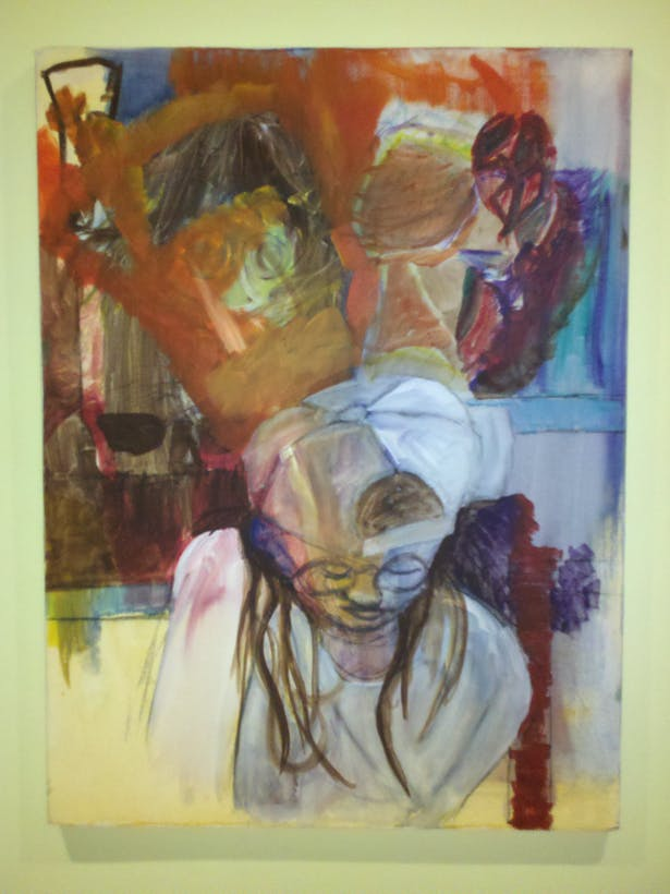 MLE, Oil on Canvas