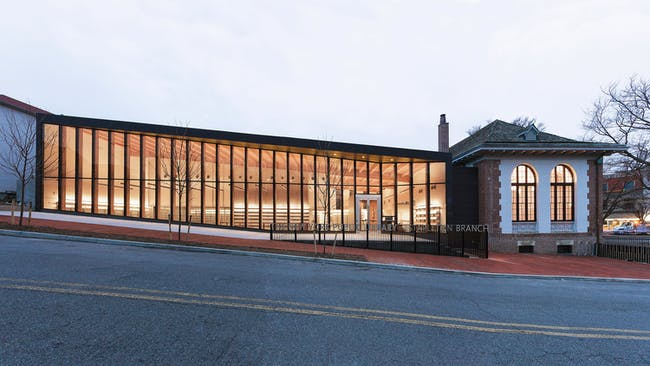Stapleton Library by Andrew Berman Architect. Photo: Naho Kubota.