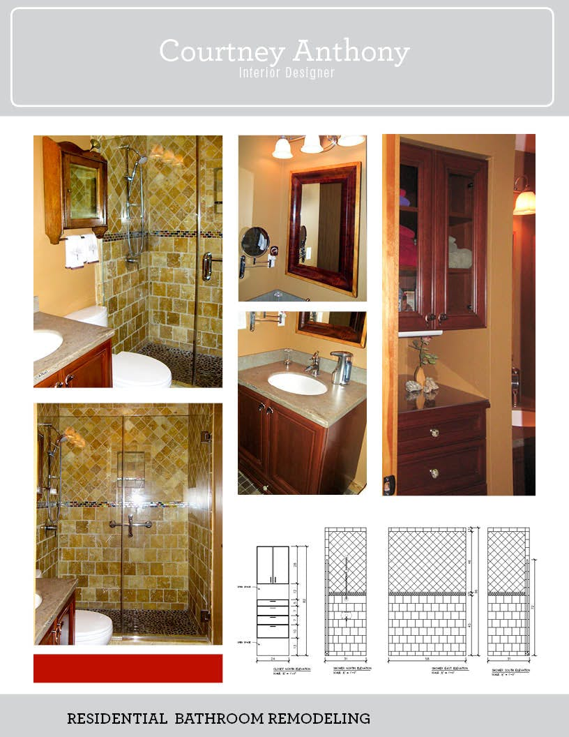 Residential Bathroom Remodeling Courtney Anthony Archinect - Residential bathroom remodeling