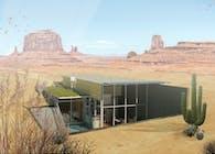 Green Desert House