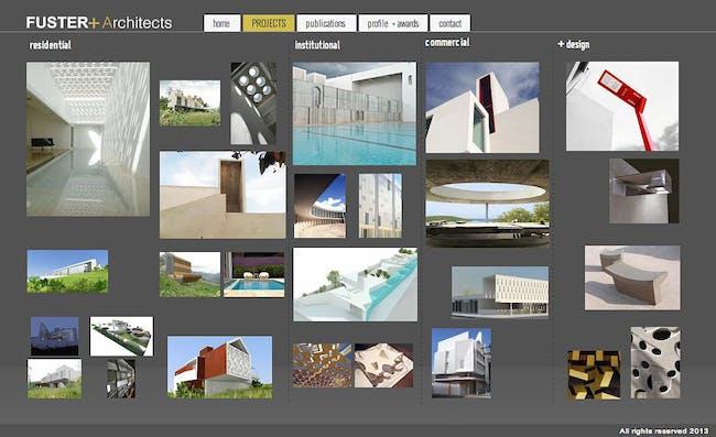 Example website built with IM Creator