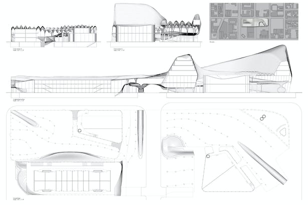 Board 2 - sections/plans