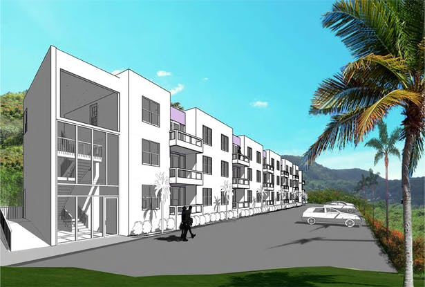 Perspective Design Rendering using Revit and Photoshop