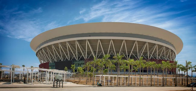 Philippine arena. Photo courtesy of Populous