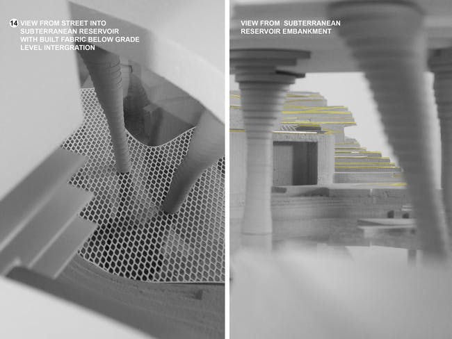 From the 'Urban Swales' project. Credit: Geofutures @ Rensselaer School of Architecture / Muhammad Ahmad Khan (student); Chris Perry (program director), Ted Ngai, Fleet Hower, Kelly Winn, Lydia Xynogala (program faculty). Acknowledgements: Evan Douglis, Dean of the Rensselaer School of Architecture.