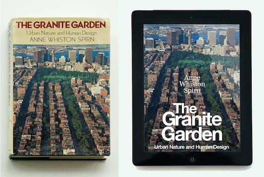 """The Granite Garden"" by Anne Whiston Spirn (1984, Basic Books; e-version, expected 2019). Photo: Courtesy of Anne Whiston Spirn."