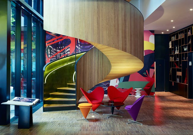 Hotel and leisure winner: citizenM London Bankside, UK by Concrete. Image courtesy of WAF.