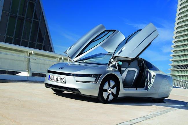 TRANSPORT: XL1 Car. Designed by Volkswagen. Image courtesy of Volkswagen.