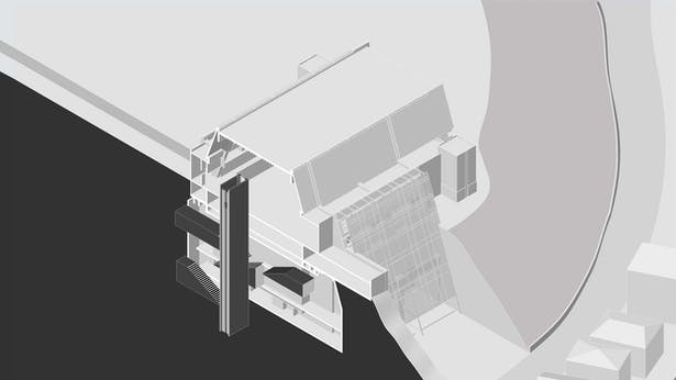Axon_Vertical Foyer