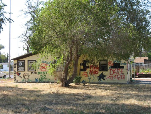 A meth house, pre-refurbishment. Photo: Eric Chan via flickr.