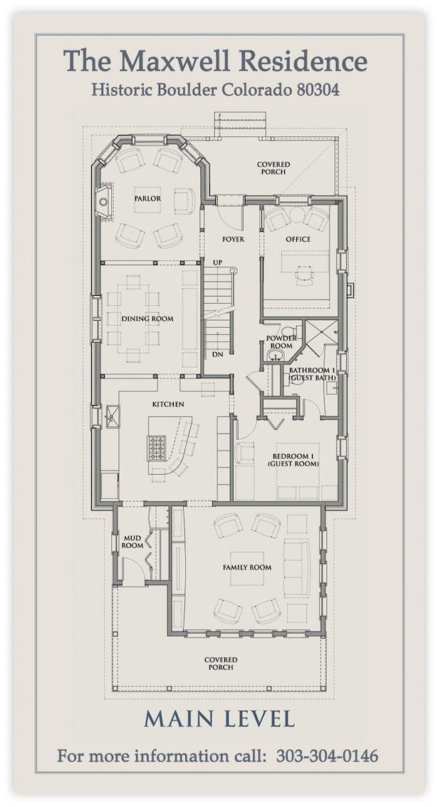 Home Plans 1st Flr