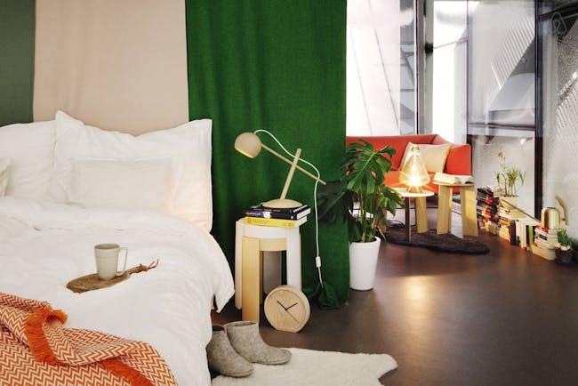 Image via the Holmenkollen ski jump's Airbnb page.