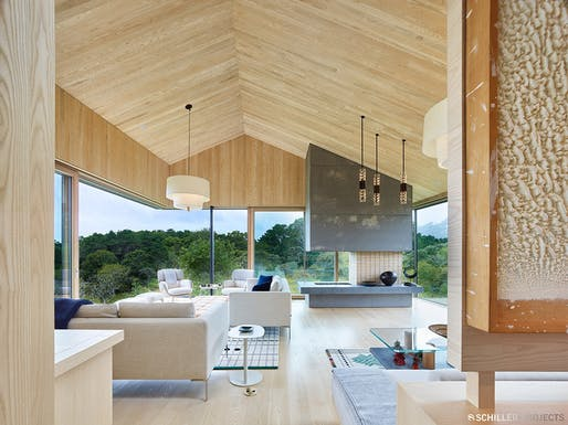 Chilmark House by Schiller Projects (with Gray Organschi Architecture). Photo: Schiller Projects.