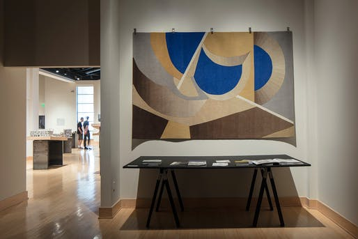 The Steven Holl-designed Ex of IN Carpet at the Samuel Dorsky Museum earlier this year. Photo: Paul Warchol.