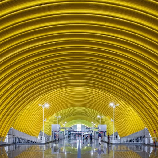 Typical Metro Stations - Line 2 Bahia in Salvador, Bahia, Brazil by JBMC arquitetura e urbanismo. Photo: Nelson Kon/Diego Viana Gomes.