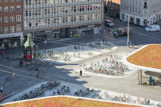 Nørreport Station, designed by COBE und Gottlieb Paludan Architects, in Jan Gehl's hometown of Copenhagen—widely considered one of the most walkable and bicycle-friendly cities. Photo: Lars Rolfsted Mortensen.